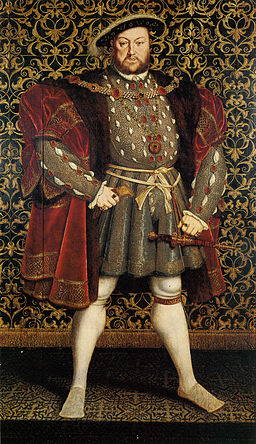 Henry VIII as you probably imagine him.