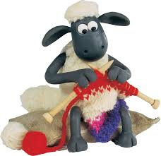 Shaun the Sheep, from the Wallis and Gromit films
