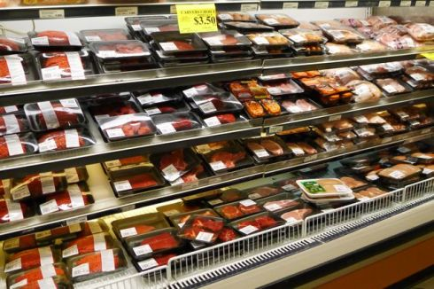 meat case