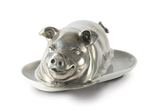 Chef Courtney's pig butter dish